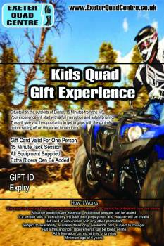 quad voucher exeter devon